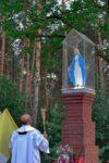 Poświęcenie figury Matki Bożej - Dęborzyce 31.07.2020 r.