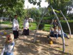 Poświecenie placu zabaw w przedszkolu urszulańskim